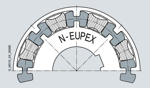 N-EUPEX RUBBER DRAWING