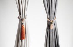 Panesl with decorative tassel