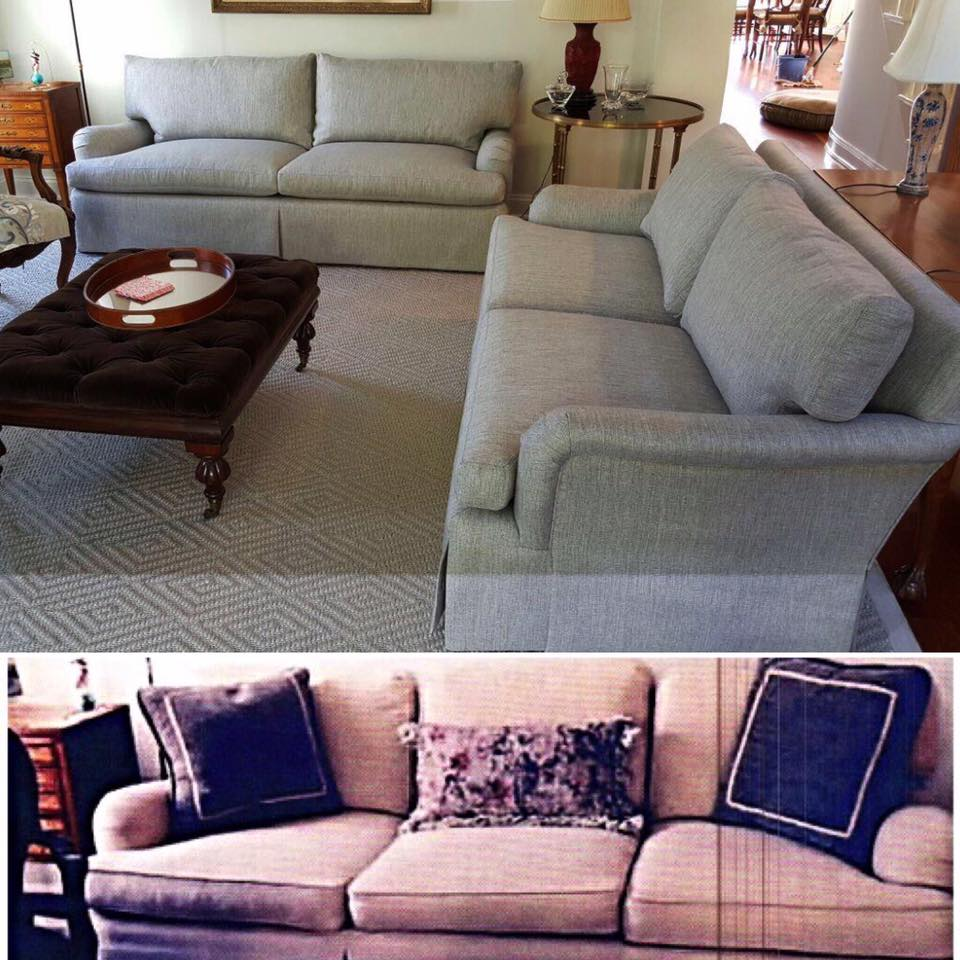 reupholstery sofas