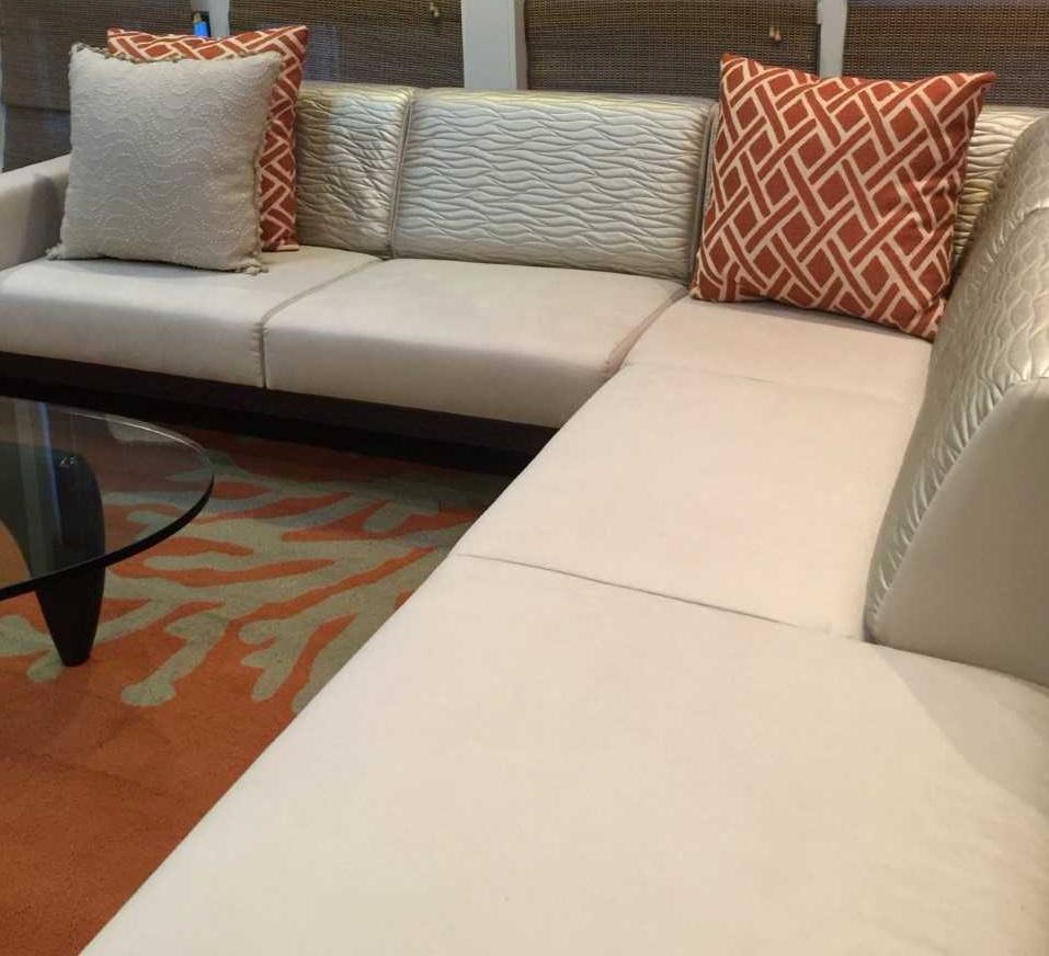 reupholstery 2 fabrics