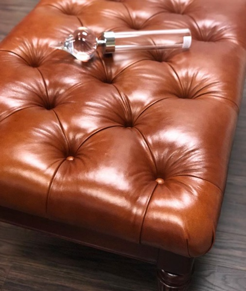 Reupholstery tufted