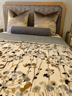 Custom Furniture Gold bed