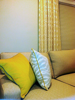 PANELS with pillows