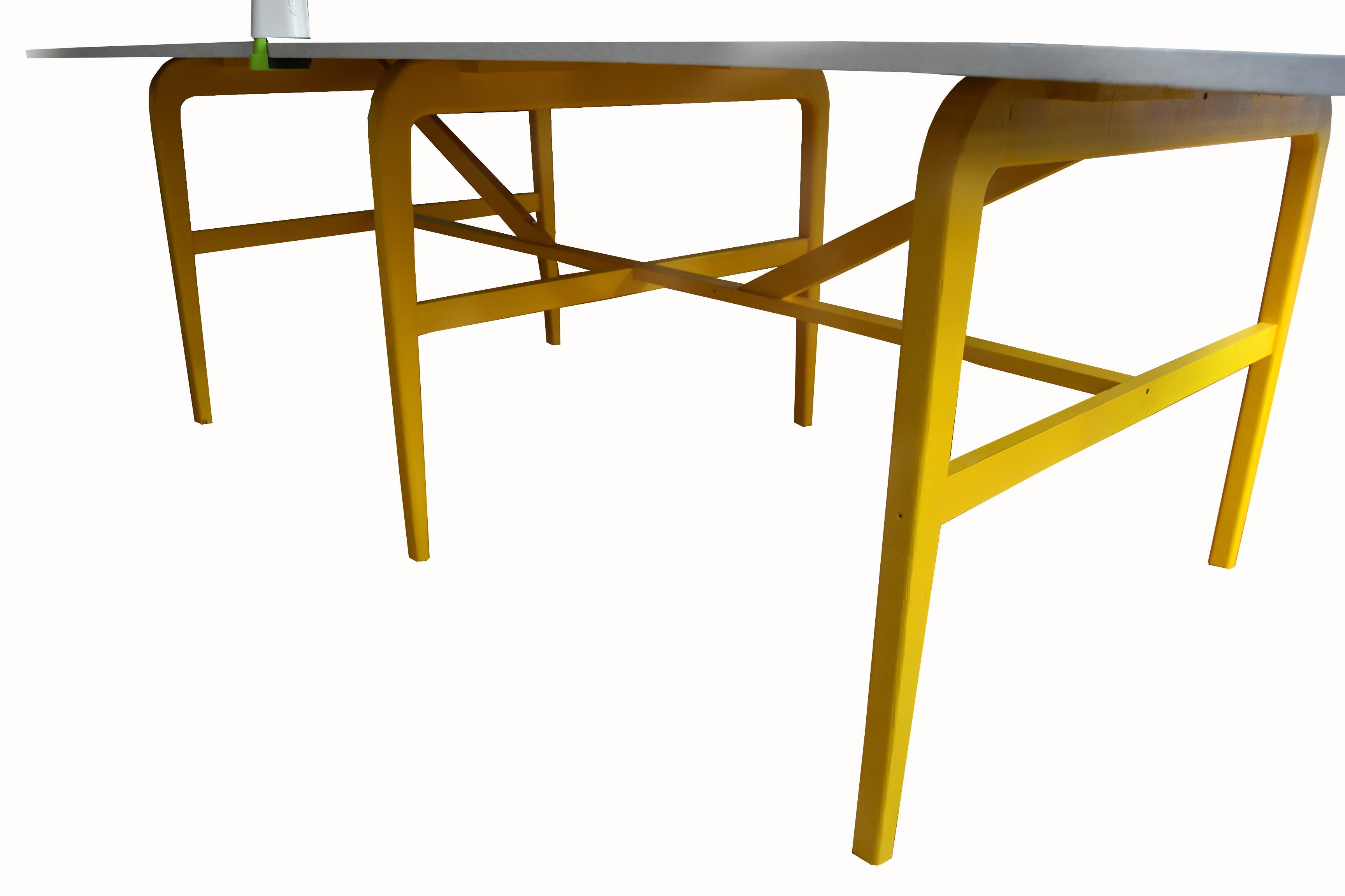 Mesa ping pong detalle