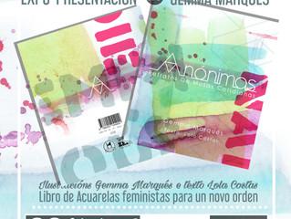 """Expo - presentación """"Anónimas"""" en Tomiño"""