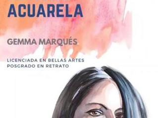 Demo Retrato en Acuarela Pintura en Directo