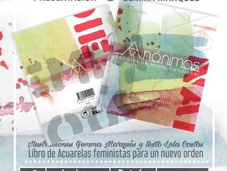 Presentación Libro Anónimas en Vigo