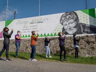 Mural Feminista Campo Alivio