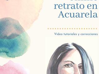Curso online Retrato en Acuarela UNED