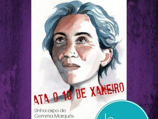 """Exposición """"Anónimas"""" en Cangas"""