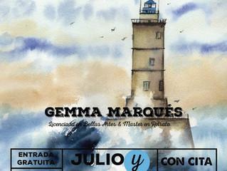 Exposición Marinas en Acuarela
