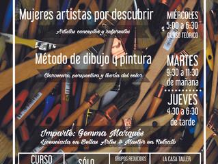 Cursos de Arte Octubre 2016