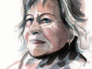 Curso de Retrato en Acuarela en Tui