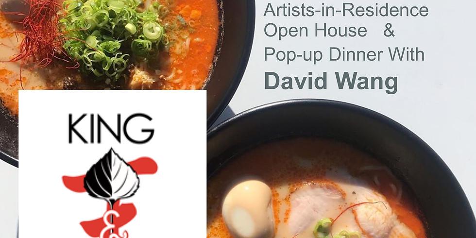 Oolite Artists-in-Residence Open House (4:30) & Pop-up Dinner (6:00)