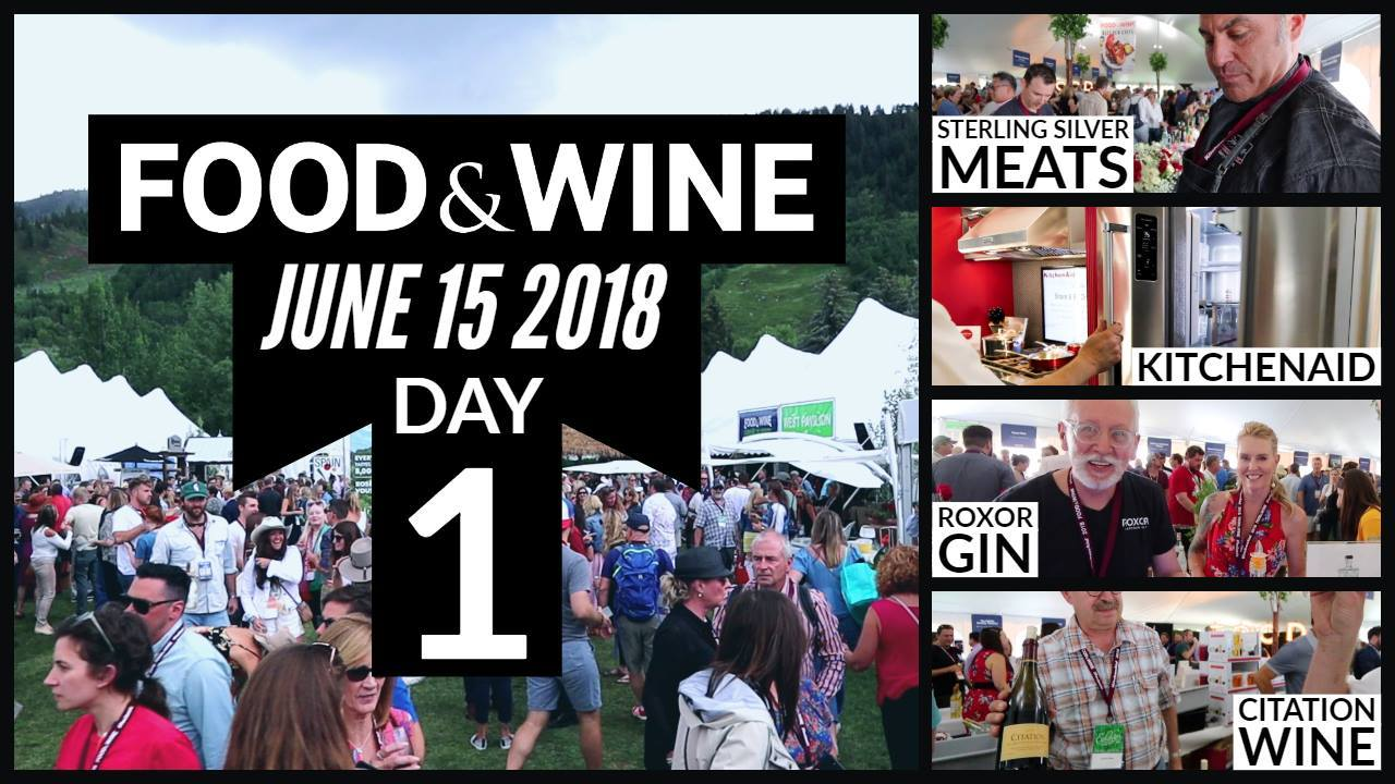 Food & Wine Classic 2018 Day 1