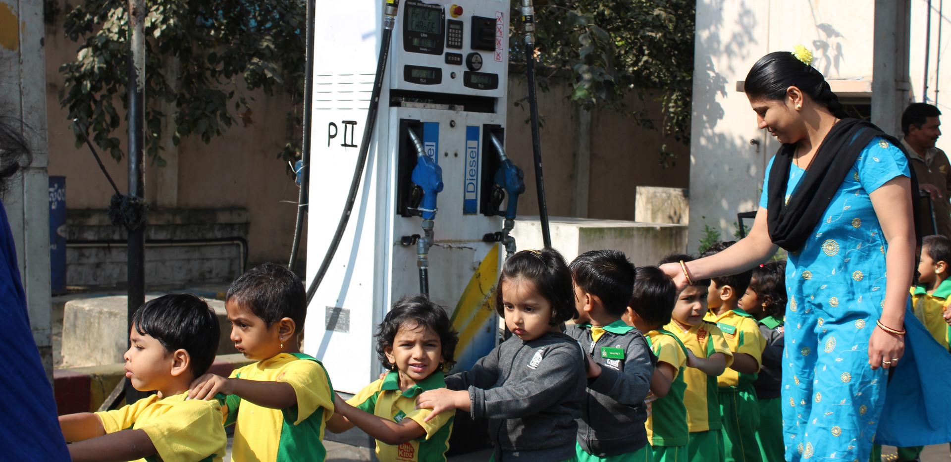 Fuel Station visit