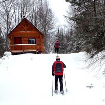 Six Warming Huts at Stokely
