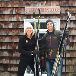 Happy ski guests from Michigan