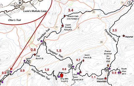 Snowshoe maps