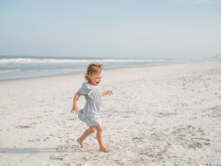 Book a Beach Session with Jacksonville Beach Family & Child Photographer ReAnna Nicole Photography