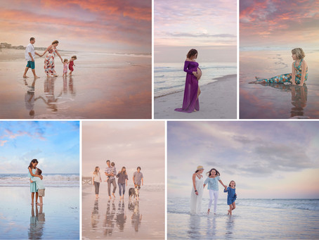 Custom Styled Beach Sessions with ReAnna Nicole Photography - Jacksonville FL