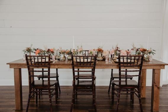 8 ft Farmhouse Tables