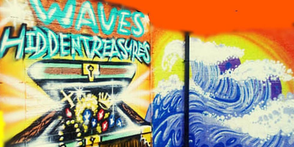 Waves Hidden Treasures Launch Day/Neon Party