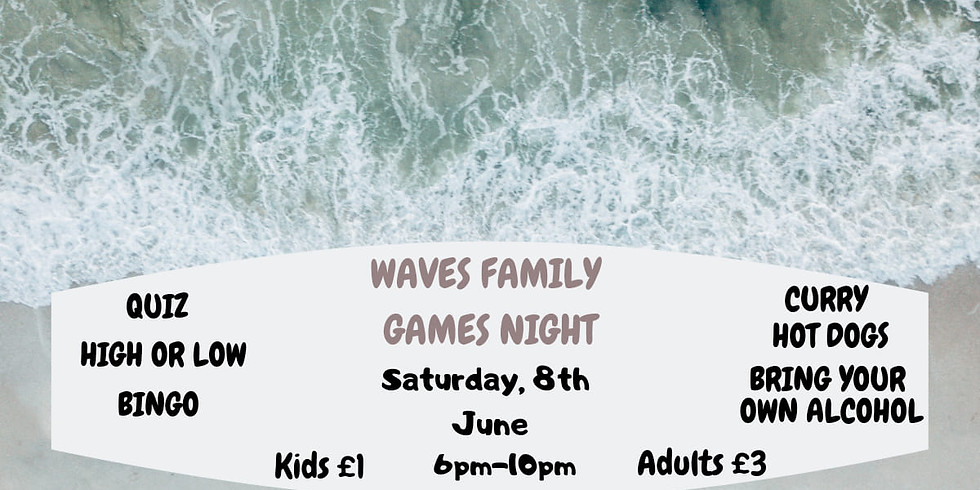 Waves Family Game Night