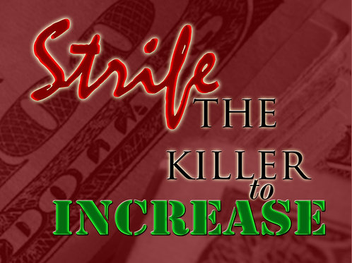 Strife the Killer to Increase