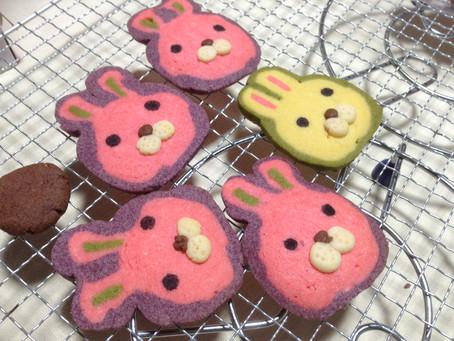 うさぎのアイスボックスクッキー