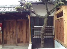 門構え 大阪 泉佐野のデコ巻き寿司  うずまきこ 古民家つばめ教室