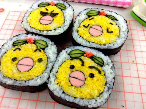 Decomaki-Sushi Bird