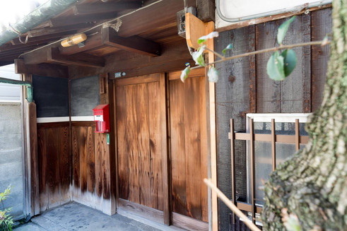 "Japanese old folk house Tsubame House"" near Kansai International Airport"