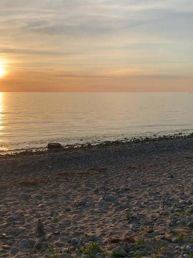 Am Strand von Rehbergort