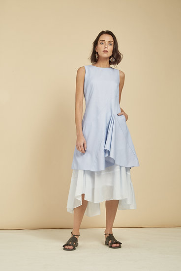 Smilje Dress - Baby Blue