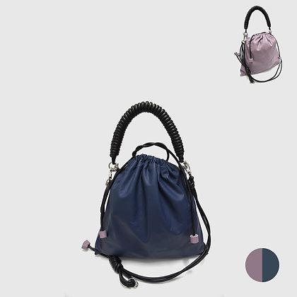 Pea Bag Duo Color - Navy /Lavender