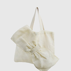 Lima Bag - White Hemp