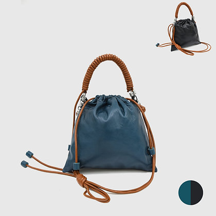 Pea Bag Duo Color - Teal / Black