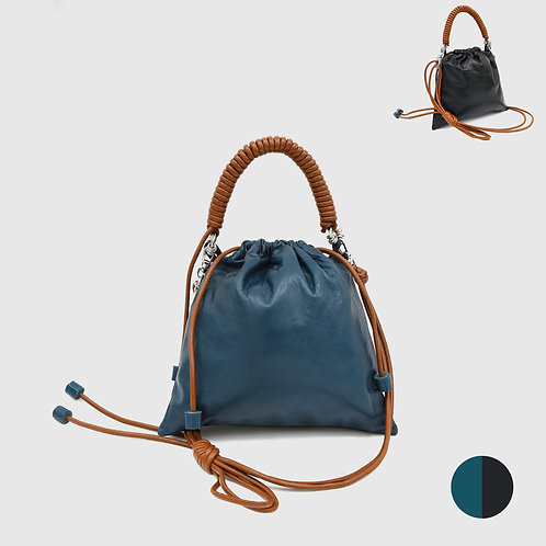 Pea Bag Duo Color - Teal / Black