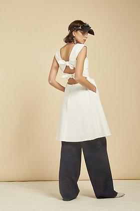 Tulp Dress - White