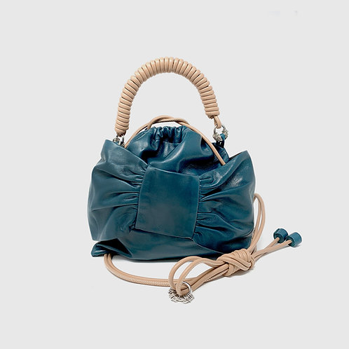 Lima Pea Bag -Teal