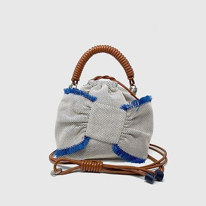 Lima Pea Bag - Blue