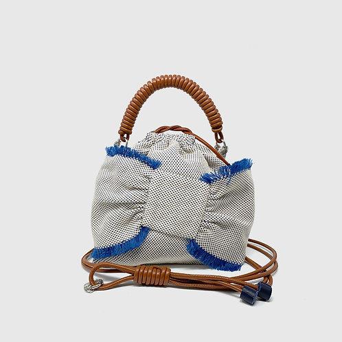 Lima Pea Bag - Blue