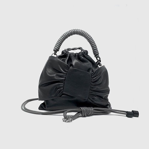 Lima Pea Bag - Black