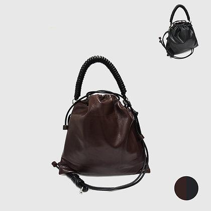 Pea Bag Duo Color - Chocolate / Black