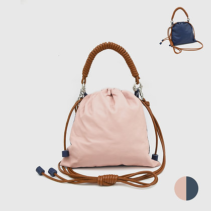 Pea Bag Duo Color - Pink / Blue