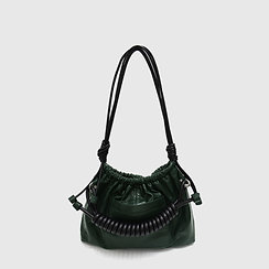 Tansy Bag -Green /Black