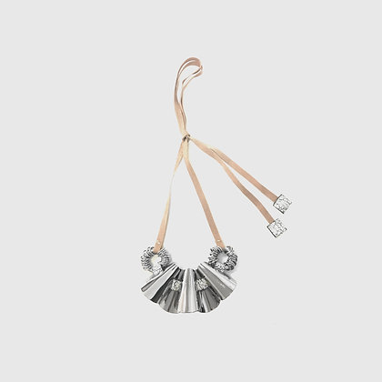 Tulsi Necklace - Silver