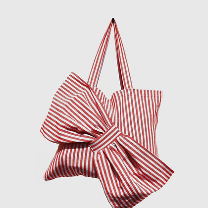 Lima Bag - Red Stripes