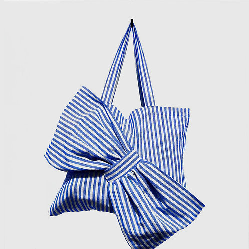 Lima Bag - Blue Stripes